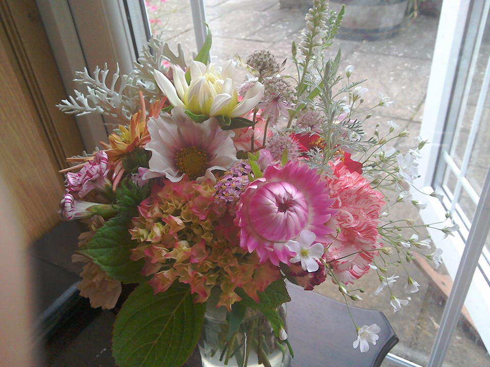 How Growing Cut Flowers On A Small Scale Is Helpful For Bees And