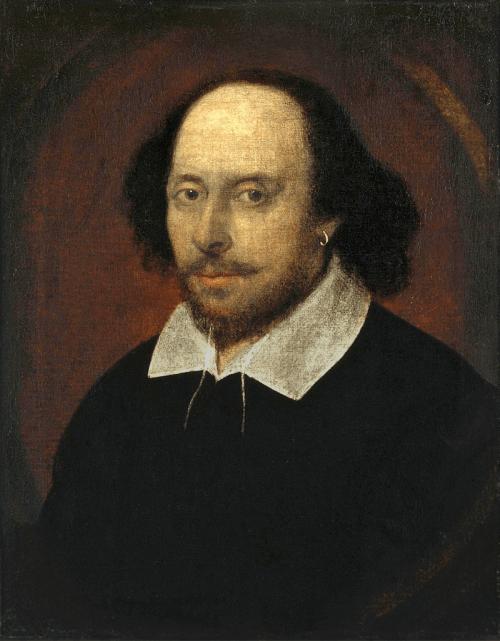 William Shakespeare - The Chandos Portrait.