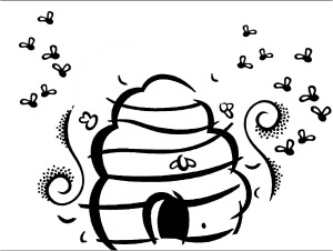 bee coloring pages, educational activity sheets and puzzles free ... - Bumble Bee Coloring Pages Kids