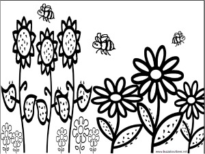 Bee Coloring Pages Educational Activity Sheets And Fun Puzzles Free To Download