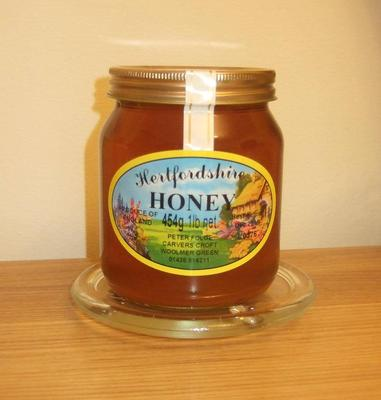 Clear Hertfordshire honey